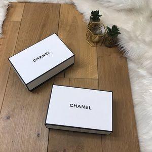 Chanel White & Black Gift Boxes